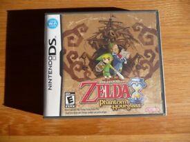 Nintendo DS Zelda Phantom Hourglass game