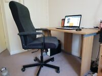 Office Desk and Chair in excellent condition for sale