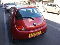 FORD KA STYLE RED 2008 MANUAL 1.3 PETROL (IMMACULATE CONDITION)