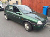 vauxhall corsa club 1.2 16v w reg-2000! 12mths mot! 90,000 miles! runs and drives excellent!
