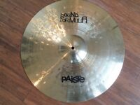 "Paiste Sound Formula 20"" Power Ride Cymbal - Excellent Pro Cymbal"