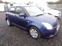 2006 SUZUKI SWIFT 1.3 5 DOOR BLUE 73,000 MILES MOT TILL 10/10/16 SERVICE HISTORY GOOD CONDITION