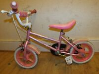 GIRLS BIKE - PINK - READY TO RIDE...CLEANED & SERVICED!