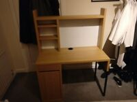 Modern Desk with Whiteboard and Storage (Needs to be picked up by 8th April)