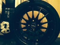 15inch Black Alloy wheels set of four
