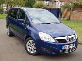 Vauxhall Zafira Design, Half leather, 1 Previous owner, Great Condition, Free warranty