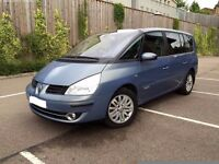RENAULT GRAND ESPACE DCI AUTO 2007 **ONLY 50000 MILES ON NEW ENGINE**LOVELY CAR**RENAULT SERVICED