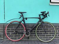 Btwin Mach 720 full carbon fibre road bike