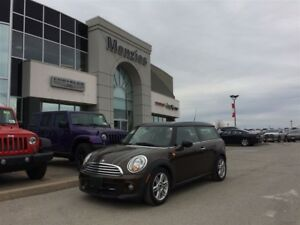 2012 MINI Cooper Clubman Bluetooth, Dual-Pane Sunroof, Leather