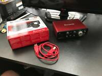 Focusrite Scarlett Solo USB Audio Interface - 2nd Gen