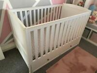 Matching Cotbed and changing unit