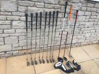 Left Handed Golf Set