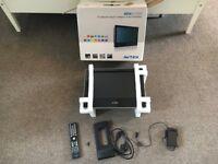 Avtex TV DVD PVR Combi unit - 12v and 240v Caravan camping TV