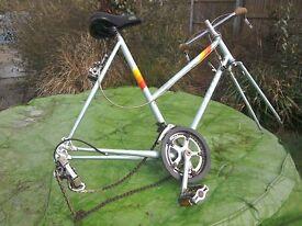 Peugeot ladies road bike parts, suitable for rebuild 1985