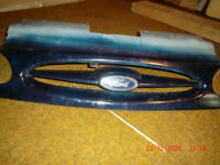Ford Galaxy Blue Front Bumper plastic moulding, from MY1997 model.
