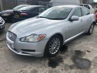 2008 08reg Jaguar XF 2.7 Tdv6 Luxury Silver private plate