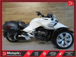 2015 Can-Am Spyder  F3 SE6 74$/SEMAINE