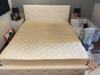 5ft6 kingsize bed and mattress.