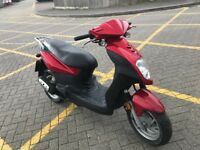 Sym symply 50cc scooter moped 12 months mot