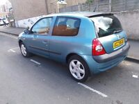 Renault clio,low mileage.IDEAL FIRST CAR.long MOT.low tax & insurance