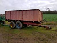 Bailey 10 tonne grain trailer