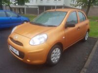 """Bargain"" ""Quick Sale"" Nissan Micra Acenta 1.2cc * new face-lift model*Full Service History*"