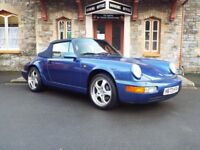 Porsche 911 Carrera Cabriolet Rare and collectable.