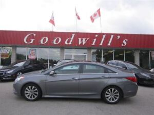 2014 Hyundai Sonata GLS! HEATED SEATS! BLUETOOTH! SUNROOF!