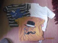 Baby boys clothes bundle 9-12 mths age. 3 items