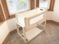 SnuzPod2 3-in-1 Bedside Crib, including Mattress and Organic Sheet