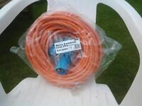 extension cable for campervan or caravan
