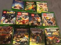Children's Ps4 and Xbox One Games - £10 each