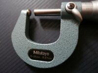 Mitutoyo 0-25mm Tube Micrometer.