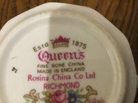 Queen's Richmond Rosina China co. Ltd. Coffee Set