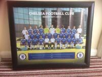 Framed Chelsea Football Club Picture