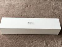 APPLE WATCH SERIES 3, 42MM GOLD CASE, SAND SPORT BAND, GPS & CELLULAR, 2 MONTHS OLD BOXED PRISTINE