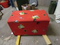 Jackie Chan's Adventures Large storage box/toy chest/ottoman VGC