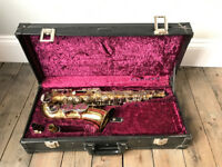 Amati Kraslice Alto SAXOPHONE and carrier case