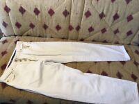 White next jeans for men