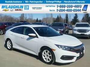 2016 Honda Civic *LX *Low Kms *Htd Seats *Bluetooth *FWD