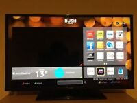 """Bush 40"""" SMART LED TV, UNDER A YEAR OLD, DELIVERY"""