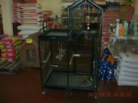 ex largw parrot cage as new