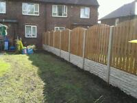 South yorkshire fencing..yorkshire SHEFFIELD AND SURROUDING AREAS..ECT