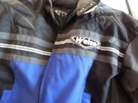 Weiss motor bike jacket large in brand new unworn condition