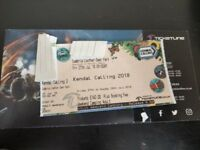 Kendal Calling Weekend Camping Ticket - Bargain!