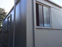 FORE SALE 20 x 9ft Anti Vandal Site Office/Jack Leg/ Portable Building /Canteen/ MORE AVAILABLE /