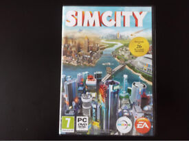 SIMCITY 2013 PC game for desktop computer other available