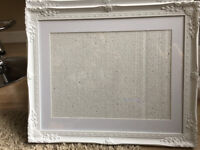 3 Art/Picture Frames for 12 inch x 16 inch canvas/photo area