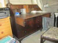 Antique Victorian? Desk. Good condition
