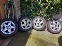 Set of four Mini wheels R56